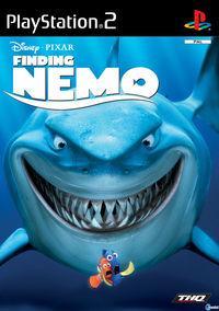 Portada oficial de Buscando a Nemo para PS2