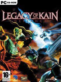 Portada oficial de Legacy of Kain: Defiance para PC
