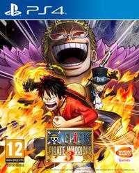 Portada oficial de One Piece: Pirate Warriors 3 para PS4