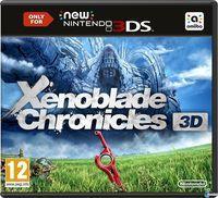 Portada oficial de Xenoblade Chronicles 3D para Nintendo 3DS