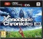 Portada oficial de de Xenoblade Chronicles 3D para Nintendo 3DS