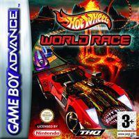 Portada oficial de Hot Wheels World Race para Game Boy Advance