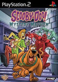 Portada oficial de Scooby Doo! El Misterioso Alboroto para PS2