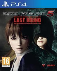 Portada oficial de Dead or Alive 5: Last Round para PS4