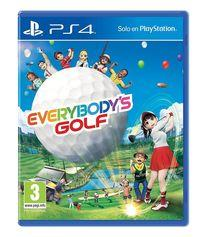 Portada oficial de Everybody's Golf para PS4