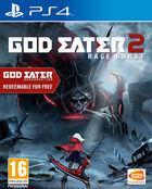 Portada oficial de de God Eater 2: Rage Burst para PS4