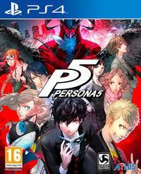 Portada oficial de Persona 5 para PS4