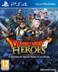 Portada oficial de Dragon Quest Heroes: El infortunio del Árbol del Mundo y la raíz del mal para PS4