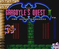 Portada oficial de Gargoyle's Quest II: The Demon Darkness para Nintendo 3DS