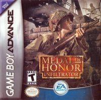 Portada oficial de Medal of Honor Infiltrator para Game Boy Advance