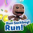 Portada oficial de de Run Sackboy! Run! PSN para PSVITA