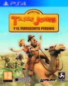 Portada oficial de de Tadeo Jones y el manuscrito perdido para PS4