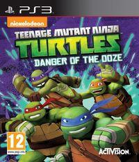 Portada oficial de Teenage Mutant Ninja Turtles: Danger of the Ooze para PS3