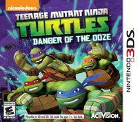 Portada oficial de Teenage Mutant Ninja Turtles: Danger of the Ooze para Nintendo 3DS