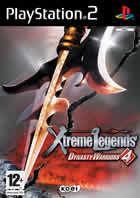 Portada oficial de de Dynasty Warriors 4 Xtreme Legends para PS2