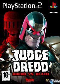 Portada oficial de Judge Dredd vs Judge Death para PS2