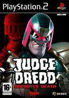 Portada oficial de de Judge Dredd vs Judge Death para PS2