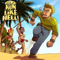 Portada oficial de Run Like Hell! para PSVITA