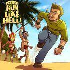 Portada oficial de de Run Like Hell! para PSVITA