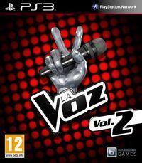 Portada oficial de La Voz vol. 2 para PS3