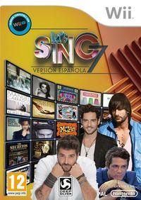 Portada oficial de Let's Sing 7: Versión Española para Wii