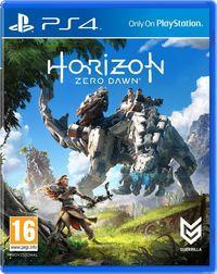 Portada oficial de Horizon: Zero Dawn para PS4