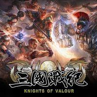 Portada oficial de Knights of Valour para PS4