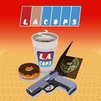 Portada oficial de LA Cops para PS4
