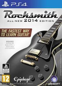 Portada oficial de Rocksmith 2014 Edition para PS4