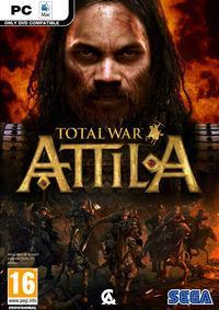 Portada oficial de Total War: Attila para PC
