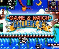 Portada oficial de Game & Watch Gallery 3 CV para Nintendo 3DS