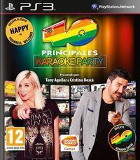 Portada oficial de Los 40 Principales Karaoke Party para PS3