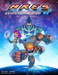Portada oficial de A.R.E.S. Extinction Agenda EX para PC