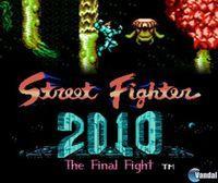 Portada oficial de Street Fighter 2010: The Final Fight CV para Nintendo 3DS