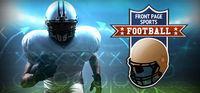 Portada oficial de Front Page Sports Football para PC