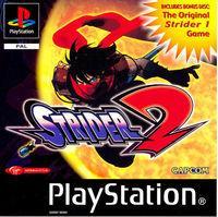 Portada oficial de Strider 2 para PS One