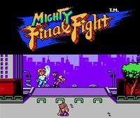 Portada oficial de Mighty Final Fight CV para Nintendo 3DS