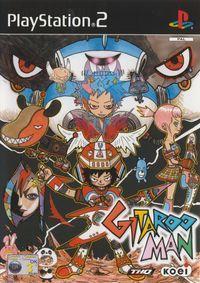 Portada oficial de Gitaroo Man para PS2