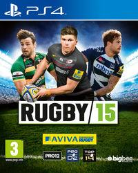 Portada oficial de Rugby 15 para PS4