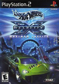 Portada oficial de Hot Wheels Velocity X Maximum Justice para PS2