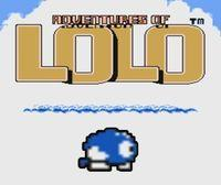 Portada oficial de Adventures of Lolo CV para Nintendo 3DS