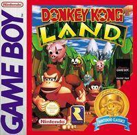 Portada oficial de Donkey Kong Land CV para Nintendo 3DS
