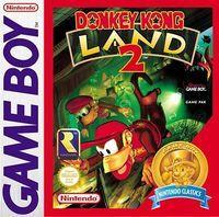 Portada oficial de Donkey Kong Land 2 CV para Nintendo 3DS