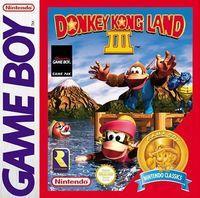 Portada oficial de Donkey Kong Land 3 CV para Nintendo 3DS