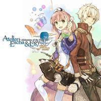 Portada oficial de Atelier Escha & Logy Plus: Alchemists of the Dusk Sky PSN para PSVITA