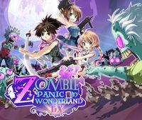 Portada oficial de Zombie Panic in Wonderland DX eShop para Nintendo 3DS