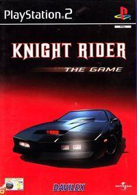 Portada oficial de Knight Rider para PS2