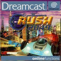 Portada oficial de San Francisco Rush 2049 para Dreamcast