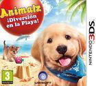 Portada oficial de de Animalz ¡Diversión en la Playa! para Nintendo 3DS