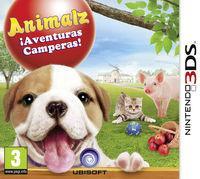 Portada oficial de Animalz ¡Aventuras Camperas! para Nintendo 3DS